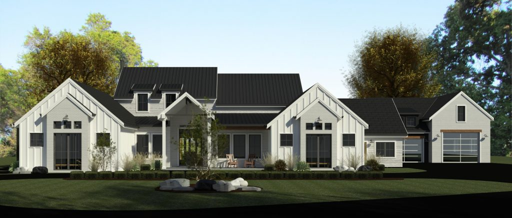 custom home with acreage newcastle